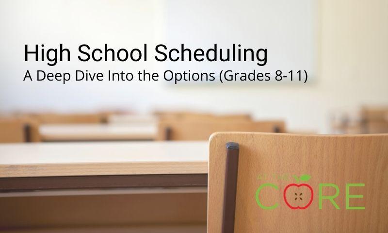 High School Scheduling
